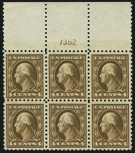 Sale Number 1111, Lot Number 511, 1916-17 Issues (Scott 462-480)4c Orange Brown (465), 4c Orange Brown (465)