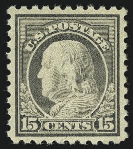 Sale Number 1111, Lot Number 526, 1916-17 Issues (Scott 462-480)15c Gray (475), 15c Gray (475)