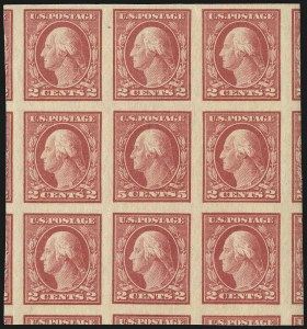 Sale Number 1111, Lot Number 544, 1917-19 Issues (Scott 481-505)5c Carmine, Imperforate, Error (485), 5c Carmine, Imperforate, Error (485)