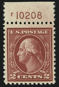 Sale Number 1111, Lot Number 562, 1917-19 Issues (Scott 481-505)2c Deep Rose, Ty. Ia (500), 2c Deep Rose, Ty. Ia (500)