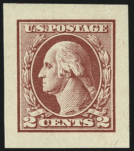 Sale Number 1111, Lot Number 598, 1918-21 Issues (Scott 525-550)2c Carmine Rose, Ty. IV, Imperforate (532), 2c Carmine Rose, Ty. IV, Imperforate (532)