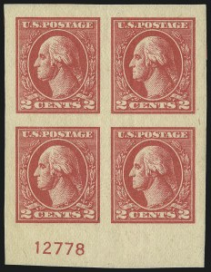 Sale Number 1111, Lot Number 602, 1918-21 Issues (Scott 525-550)2c Carmine, Ty. VII, Imperforate (534B), 2c Carmine, Ty. VII, Imperforate (534B)