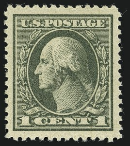 Sale Number 1111, Lot Number 607, 1918-21 Issues (Scott 525-550)1c Gray Green (536), 1c Gray Green (536)