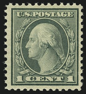 Sale Number 1111, Lot Number 612, 1918-21 Issues (Scott 525-550)1c Green, Rotary (545), 1c Green, Rotary (545)