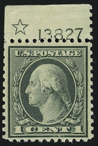 Sale Number 1111, Lot Number 613, 1918-21 Issues (Scott 525-550)1c Green, Rotary (545), 1c Green, Rotary (545)