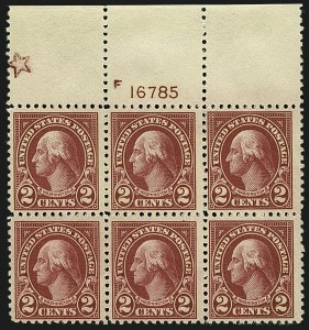 Sale Number 1111, Lot Number 620, 1922-25 Issues (Scott 551-573a)2c Carmine (554), 2c Carmine (554)