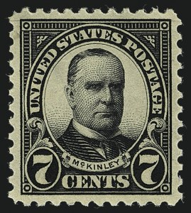 Sale Number 1111, Lot Number 623, 1922-25 Issues (Scott 551-573a)7c Black (559), 7c Black (559)