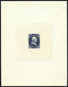 Sale Number 1113, Lot Number 2146, 1861-66 Issue: National Bank Note Co.National Bank Note Co., 1c Blue, First Design, Die Essay on India (63-E11a; formerly 55P1), National Bank Note Co., 1c Blue, First Design, Die Essay on India (63-E11a; formerly 55P1)