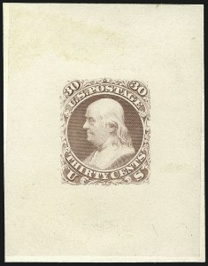 Sale Number 1113, Lot Number 2163, 1861-66 Issue: National Bank Note Co.National Bank Note Co., 30c First Design, Die and Plate Essays (71-E2a, 71-E2b, 71-E2c), National Bank Note Co., 30c First Design, Die and Plate Essays (71-E2a, 71-E2b, 71-E2c)