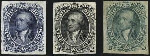 Sale Number 1113, Lot Number 2165, 1861-66 Issue: National Bank Note Co.National Bank Note Co., 90c First Design, Plate Essays (72-E7e, 72-E7f, 72-E7g), National Bank Note Co., 90c First Design, Plate Essays (72-E7e, 72-E7f, 72-E7g)