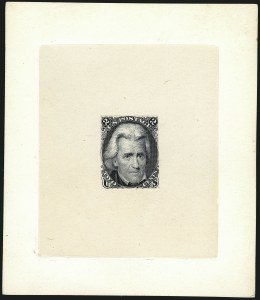 Sale Number 1113, Lot Number 2168, 1861-66 Issue: National Bank Note Co.1861-66 Issue Large Die Proofs, 1861-66 Issue Large Die Proofs