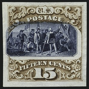 Sale Number 1113, Lot Number 2294, 1c-90c 1869 Pictorial Issue and 1875 Re-Issue Proofs: National Bank Note Co.1c-90c 1869 Pictorial, Plate Proofs on India, Card (112P3-122P3, 129P3, 112P4-122P4), 1c-90c 1869 Pictorial, Plate Proofs on India, Card (112P3-122P3, 129P3, 112P4-122P4)