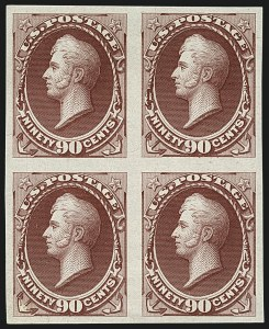 Sale Number 1113, Lot Number 2330, 12c-90c 1870-73 Bank Note Issue: National Bank Note Co.1c-90c 1870-71 National Bank Note Co., Plate Proofs on India or Card (145P3-155P3), 1c-90c 1870-71 National Bank Note Co., Plate Proofs on India or Card (145P3-155P3)