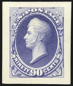 Sale Number 1113, Lot Number 2331, 12c-90c 1870-73 Bank Note Issue: National Bank Note Co.National Bank Note Co., 1870 Issue, Essays and Progressive Die Proofs, National Bank Note Co., 1870 Issue, Essays and Progressive Die Proofs