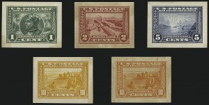 Sale Number 1113, Lot Number 2404, 1902-20 Issues1c-10c Panama-Pacific, Panama-Pacific Small Die Proofs on Wove (397P2a-400AP2a), 1c-10c Panama-Pacific, Panama-Pacific Small Die Proofs on Wove (397P2a-400AP2a)