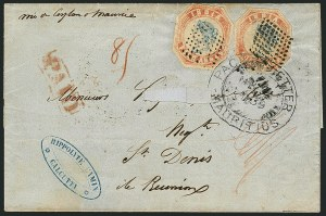 Sale Number 1114, Lot Number 1003, IndiaINDIA, 1854, 4a Red & Blue (6; SG 19), INDIA, 1854, 4a Red & Blue (6; SG 19)