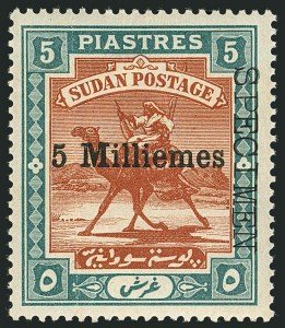 "Sale Number 1114, Lot Number 1112, SudanSUDAN, Locally Overprinted ""Specimen"" Sets, 1902-1954, SUDAN, Locally Overprinted ""Specimen"" Sets, 1902-1954"