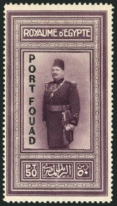 "Sale Number 1114, Lot Number 1199, EgyptEGYPT, 1926, 5m-50p ""Port Fouad"" Overprints (121-124; SG 141-144; Nile Post C17-C20), EGYPT, 1926, 5m-50p ""Port Fouad"" Overprints (121-124; SG 141-144; Nile Post C17-C20)"