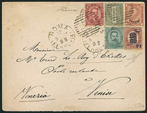 "Sale Number 1114, Lot Number 1325, Italian States and ItalyITALY, Italian Offices Abroad, 1874-78, 2c Orange Brown, ""Estero"" Overprint (2; Sassone 2), ITALY, Italian Offices Abroad, 1874-78, 2c Orange Brown, ""Estero"" Overprint (2; Sassone 2)"