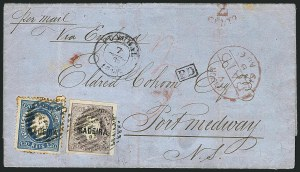 Sale Number 1114, Lot Number 1334, Japan thru ReunionMADEIRA, 1868, 100r Lilac (5), MADEIRA, 1868, 100r Lilac (5)