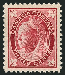 Sale Number 1114, Lot Number 138, Canada - Maple Leaf and Numeral IssueCANADA, 1897, -1/2c-3c Maple Leaf (66-69), CANADA, 1897, -1/2c-3c Maple Leaf (66-69)