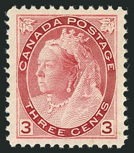 Sale Number 1114, Lot Number 144, Canada - Maple Leaf and Numeral IssueCANADA, 1898, -1/2c-3c Numerals (74-76, 78), CANADA, 1898, -1/2c-3c Numerals (74-76, 78)