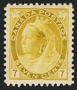 Sale Number 1114, Lot Number 149, Canada - Maple Leaf and Numeral IssueCANADA, 1902, 7c Olive Green (81), CANADA, 1902, 7c Olive Green (81)