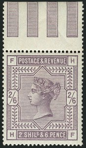 Sale Number 1114, Lot Number 804, Great BritainGREAT BRITAIN, 1883, 2sh6p Lilac (96; SG 178), GREAT BRITAIN, 1883, 2sh6p Lilac (96; SG 178)