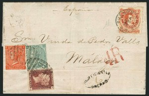 Sale Number 1114, Lot Number 815, Great Britain Used Abroad thru General British CommonwealthGREAT BRITAIN, Used in Argentina, 1867-68, 5c Vermilion (20), GREAT BRITAIN, Used in Argentina, 1867-68, 5c Vermilion (20)