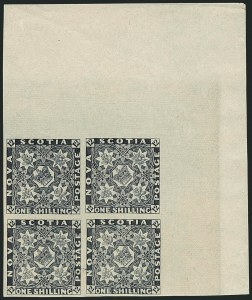Sale Number 1114, Lot Number 891, Canadian Provinces - Newfoundland thru Prince Edward IslandNOVA SCOTIA, 1851-57, 1p-1sh Reprints (1R-6R), NOVA SCOTIA, 1851-57, 1p-1sh Reprints (1R-6R)