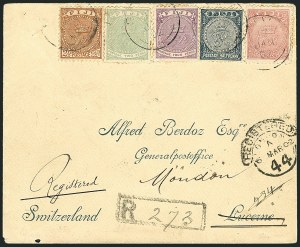 Sale Number 1114, Lot Number 974, Fiji thru Hong KongFIJI, 1878-90, 2p Green, 4p Bright Violet, 6p Bright Rose (41-43; SG 40, 55-56), FIJI, 1878-90, 2p Green, 4p Bright Violet, 6p Bright Rose (41-43; SG 40, 55-56)