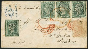 Sale Number 1114, Lot Number 999, IndiaINDIA, 1854, 2a Green (5; SG 31), INDIA, 1854, 2a Green (5; SG 31)