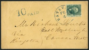 Sale Number 1115, Lot Number 2131, 10c 1851-56 Issue (Scott 13-14)10c Green, Ty. II (14), 10c Green, Ty. II (14)