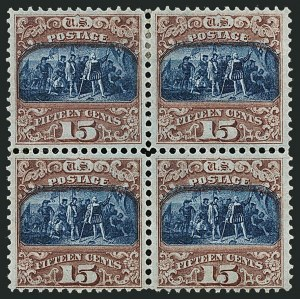 Sale Number 1115, Lot Number 2272, 12c-90c 1869 Pictorial Issue (Scott 117-122)15c Brown & Blue, Ty. II (119), 15c Brown & Blue, Ty. II (119)