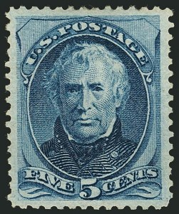 Sale Number 1116, Lot Number 3222, 1870-75 National and Continental Bank Note Co. Issues (Scott 134-179)5c Blue (179), 5c Blue (179)