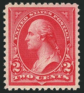 Sale Number 1116, Lot Number 3263, 1894-98 Bureau Issues (Scott 246-278)2c Carmine, Ty. II (266), 2c Carmine, Ty. II (266)