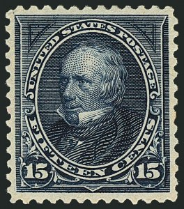 Sale Number 1116, Lot Number 3266, 1894-98 Bureau Issues (Scott 246-278)15c Dark Blue (274), 15c Dark Blue (274)