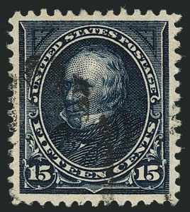 Sale Number 1116, Lot Number 3267, 1894-98 Bureau Issues (Scott 246-278)15c Dark Blue (274), 15c Dark Blue (274)
