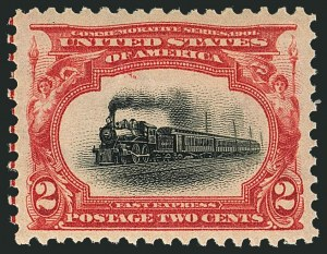 Sale Number 1116, Lot Number 3283, 1898 Trans-Mississippi and 1901 Pan-American Issues (Scott 285-299)2c Pan-American (295), 2c Pan-American (295)