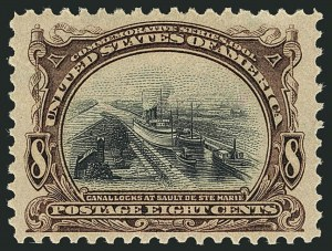 Sale Number 1116, Lot Number 3286, 1898 Trans-Mississippi and 1901 Pan-American Issues (Scott 285-299)8c Pan-American (298), 8c Pan-American (298)
