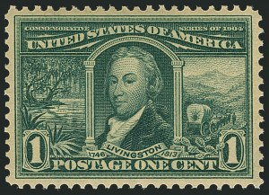 Sale Number 1116, Lot Number 3301, 1902-08 thru Louisiana Purchase Issues (Scott 300-327)1c Louisiana Purchase (323), 1c Louisiana Purchase (323)