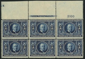 Sale Number 1116, Lot Number 3302, 1902-08 thru Louisiana Purchase Issues (Scott 300-327)5c Louisiana Purchase (326), 5c Louisiana Purchase (326)