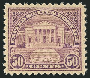 Sale Number 1116, Lot Number 3377, 1922 and Later Issues50c Lilac (570), 50c Lilac (570)