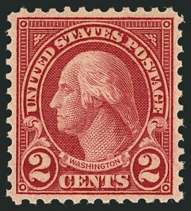 Sale Number 1116, Lot Number 3385, 1922 and Later Issues2c Carmine, Rotary, Perf 11 (595), 2c Carmine, Rotary, Perf 11 (595)