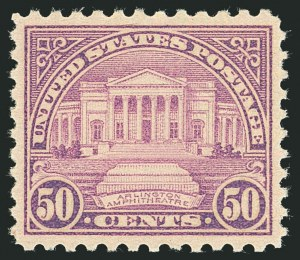 Sale Number 1116, Lot Number 3395, 1922 and Later Issues50c Lilac (701), 50c Lilac (701)
