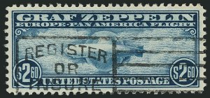 Sale Number 1116, Lot Number 3417, Air Post incl. Specialized Air Post Special Delivery $2.60 Graf Zeppelin (C15), $2.60 Graf Zeppelin (C15)