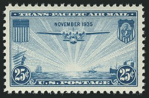 Sale Number 1116, Lot Number 3419, Air Post incl. Specialized Air Post Special Delivery 25c Trans-Pacific (C20), 25c Trans-Pacific (C20)