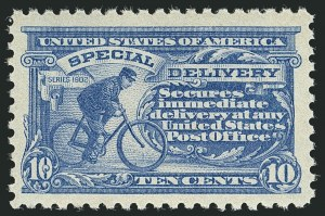 Sale Number 1116, Lot Number 3436, Special Delivery thru Offices in China10c Ultramarine (E9), 10c Ultramarine (E9)