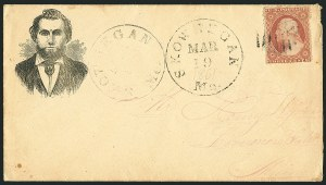 Sale Number 1117, Lot Number 4082, 1857-60 Issue3c Dull Red, Ty. III (26), 3c Dull Red, Ty. III (26)