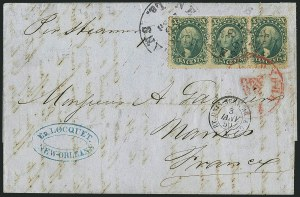 Sale Number 1117, Lot Number 4086, 1857-60 Issue10c Green, Ty. I (31), 10c Green, Ty. I (31)